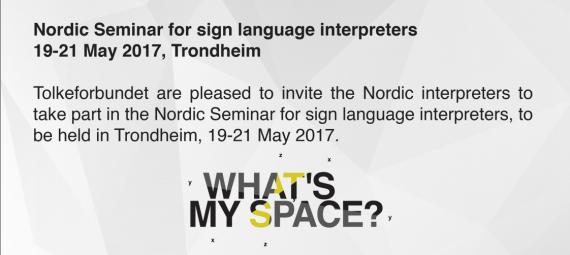 Nordic Seminar 2017